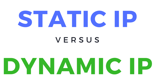 static IP, Dynamic IP, ITC